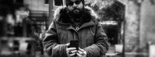 Mr. Blumenberg, self-portrait